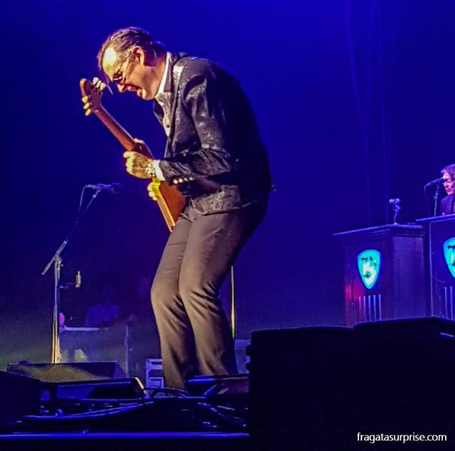 Show do bluesman Joe Bonamassa no Orpheum Theater de Memphis, em novembro de 2018