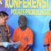 Pelaku 'Obok-Obok Isi Rumah Orang' Dibekuk Polres Probolinggo Kota