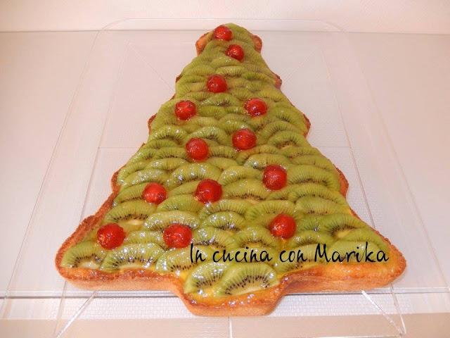 Dolce Di Natale Albero.Facili Idee Albero Di Natale Dolce