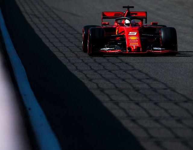 Ferrari gana el Gran Premio de Bélgica 2019