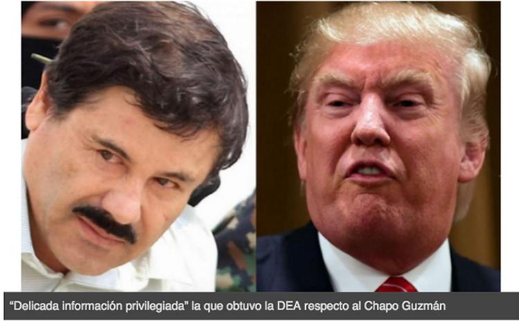 """EL """"CHAPO YA HABLO"""" y TRUMP PODRÍA USAR """"INFORMACIÓN"""" para PRESIONAR a PEÑA NIETO"""