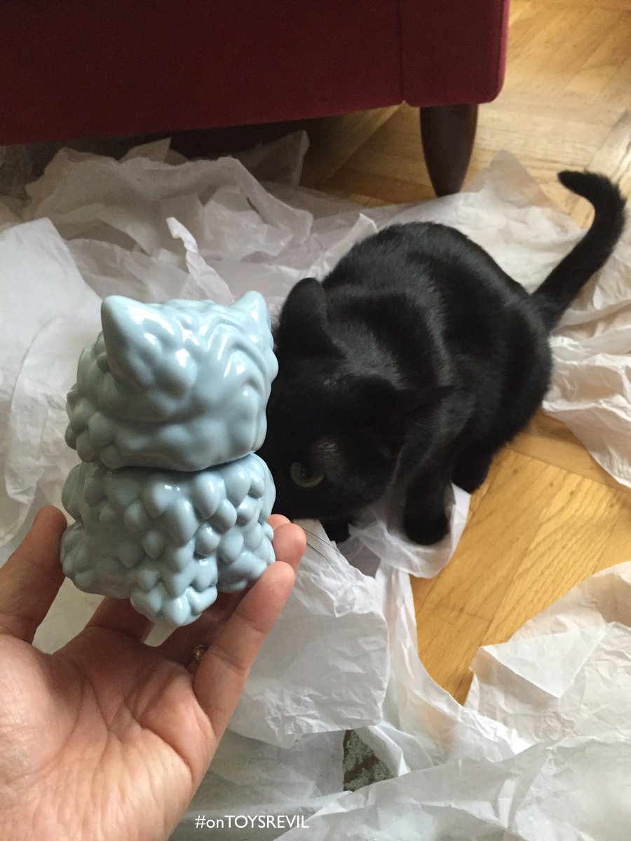 """First Look At """"ChubZ The Cat"""" By Jay222 X Max Toy Co For"""