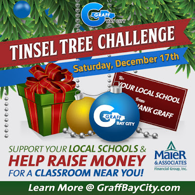 4th Annual Tinsel Tree Challege