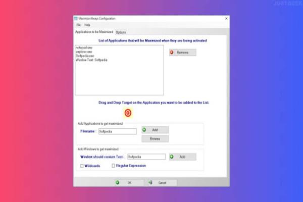 هذا البرنامج الصغير ستحتاجه لتشغيل أي برنامج في نافذة ممتلئة على Windows تلقائيا