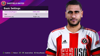 PES 2020 Faces Leon Clarke by Rachmad ABs