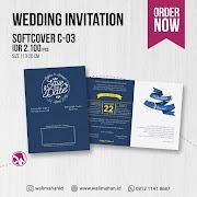 Undangan Pernikahan Softcover C03