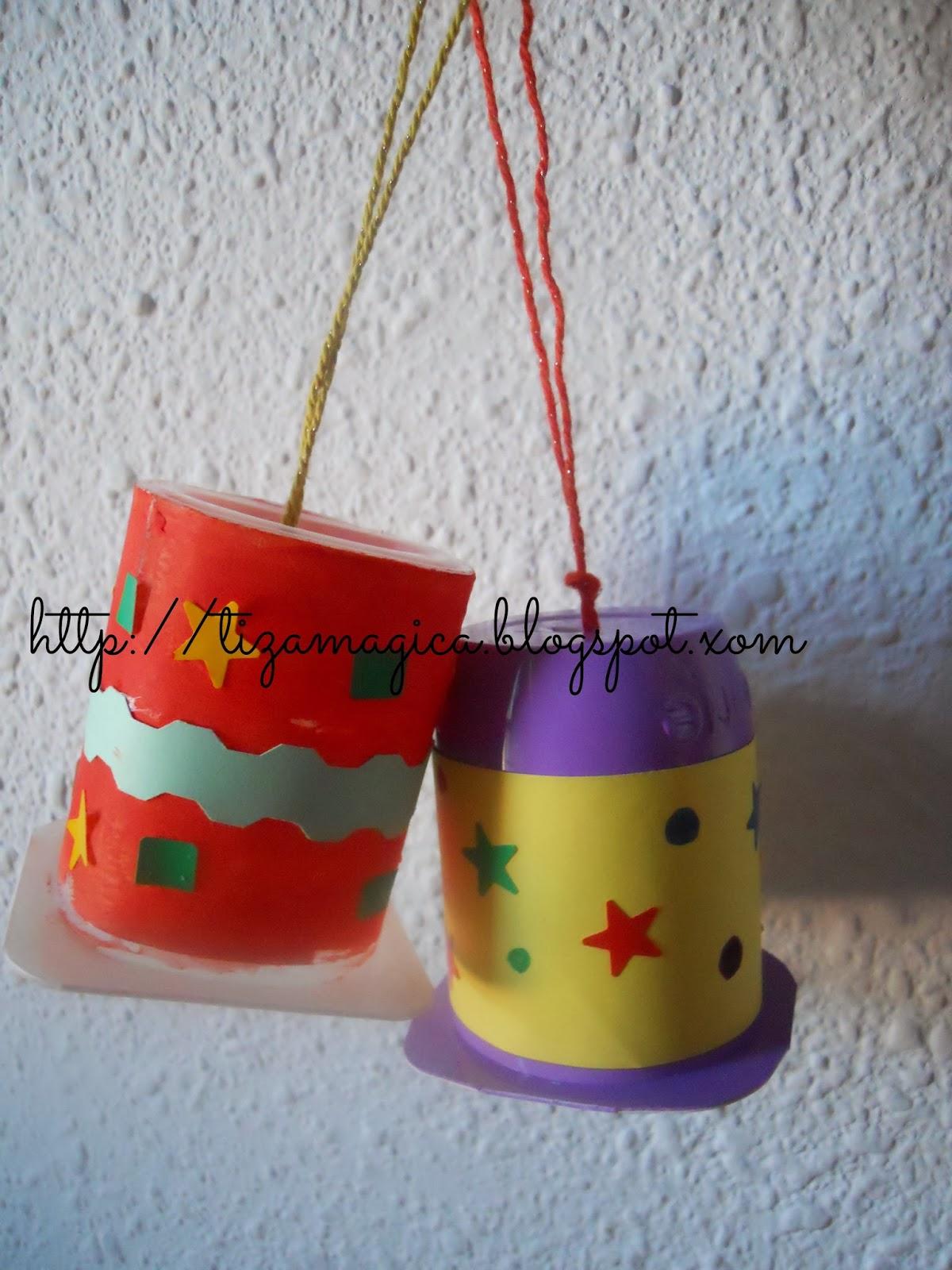 La tiza m gica adornos caseros de navidad para el rbol for Adornos para arbol de navidad caseros