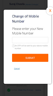 How To Change Mobile Number And Email ID In Indane Gas Online