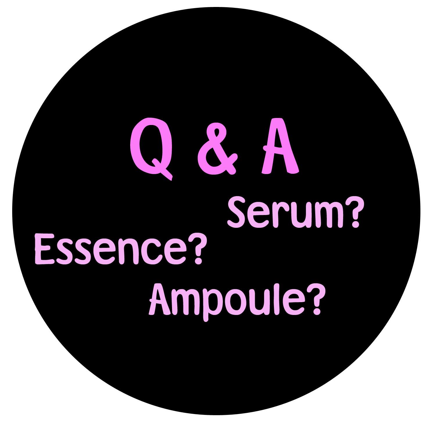 apa itu essence serum ampoule