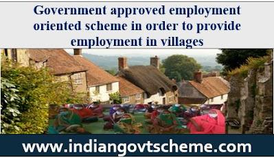 Employment oriented schemes