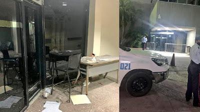 Lanzan explosivo contra la clínica Paraíso en Maracaibo