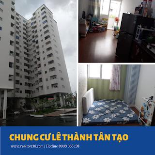 căn hộ 36,5m2 chung cư Lê Thành Tân Tạo quận bình tân