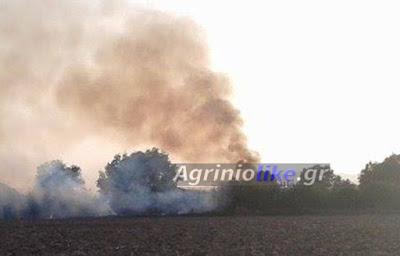 Σταμνά :Οι κάτοικοι κατάσβεσαν πυρκαγιά | Νέα από το Αγρίνιο και ...