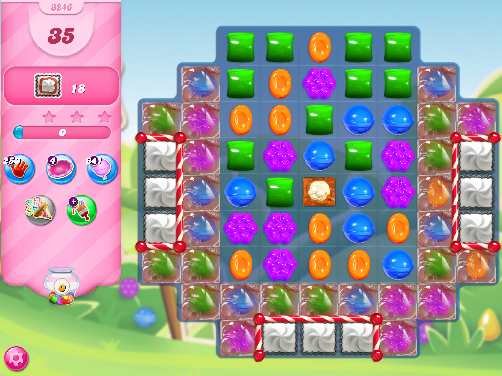 Candy Crush Saga level 3246