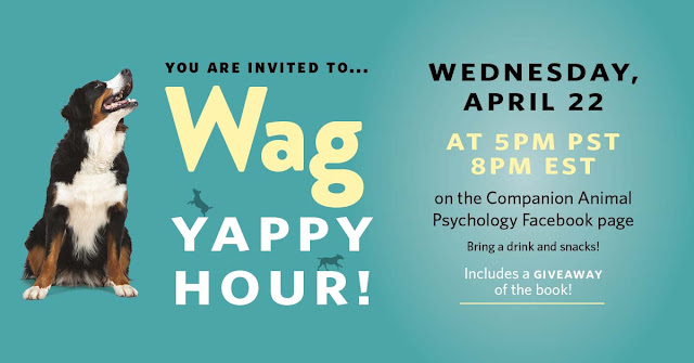 Invitation to the Wag Yappy Hour with Zazie Todd, PhD