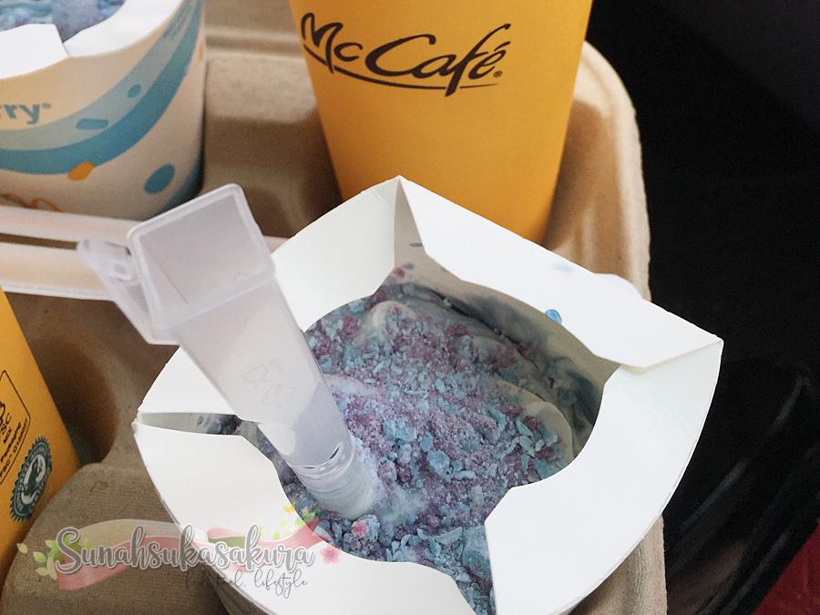 McDonald's Sea Salt McFlurry