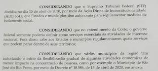 Clebinho pediu reabertura do comércio em Pereira Barreto