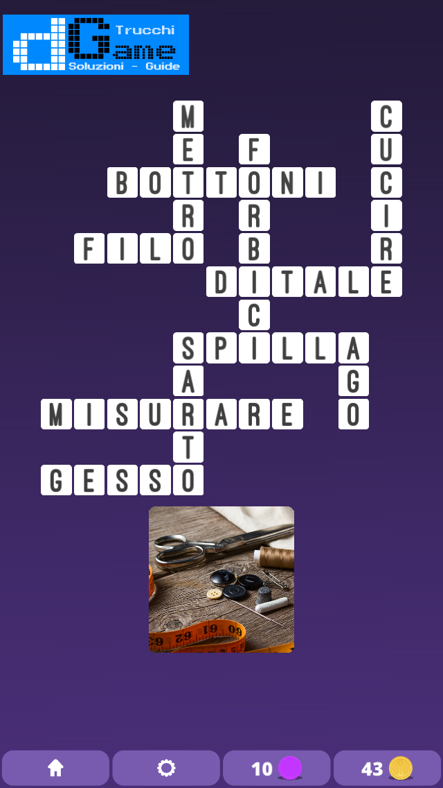 Soluzioni One Clue Crossword livello 1 Schema 7 (Cruciverba illustrato)  | Parole e foto