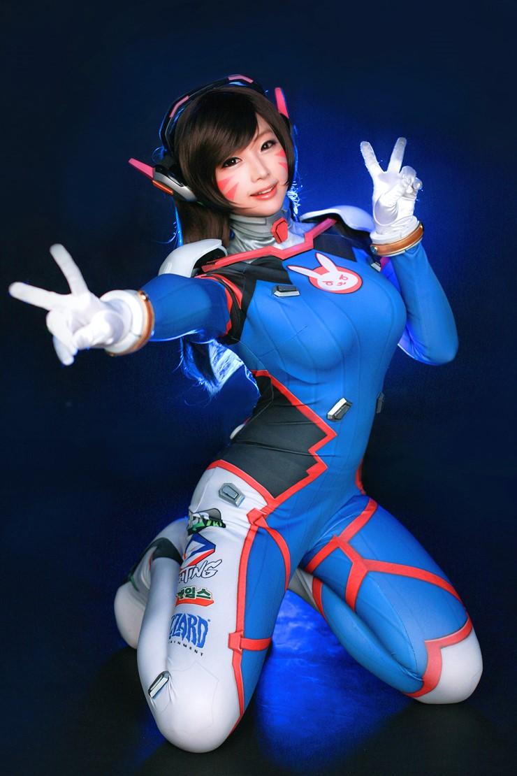 theomeganerd   gamer s stuff overwatch   d va cosplay by