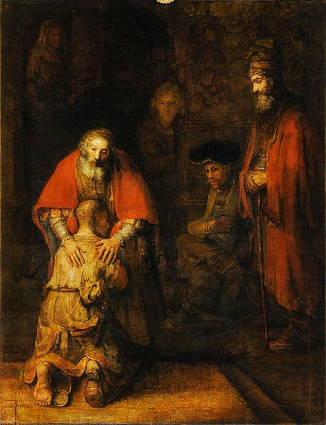 http://en.wikipedia.org/wiki/The_Return_of_the_Prodigal_Son_%28Rembrandt%29