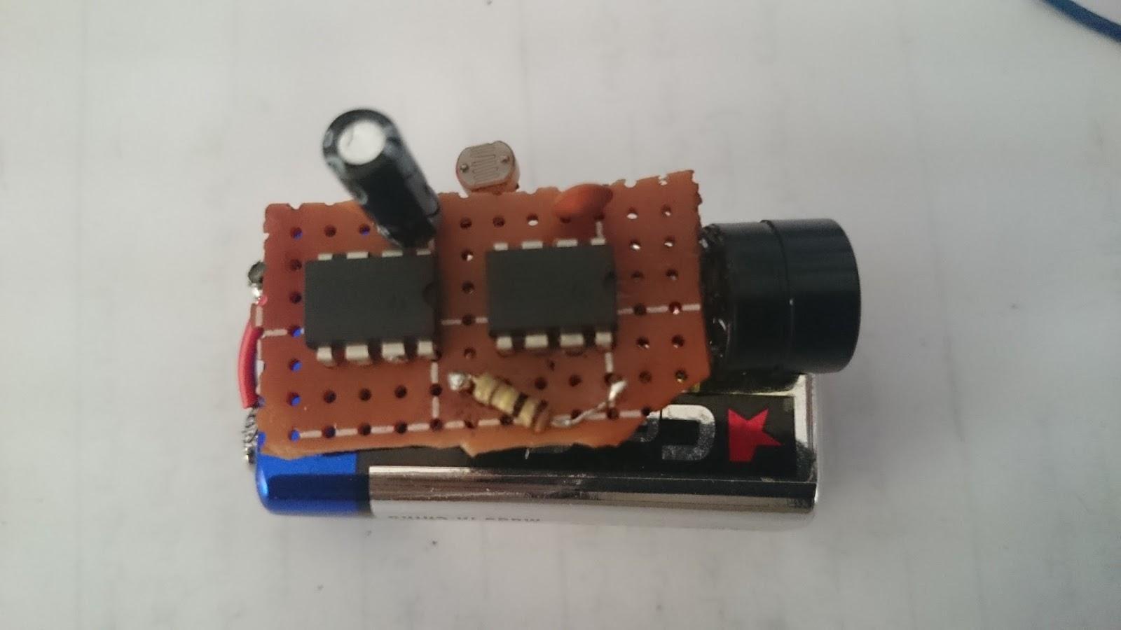 Fridge Door Alarm Circuit With Delay Time