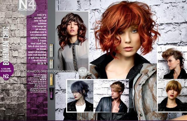 Evos Parrucchieri collezione autunno-inverno 2013-14: BOHÉMIAN CHIC