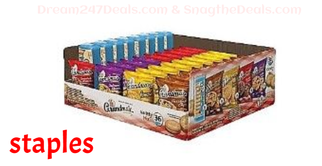 Grandma's Cookies, Variety, 36/Carton (FRI14867)
