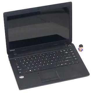 Laptop Toshiba C40-A Second di Malang