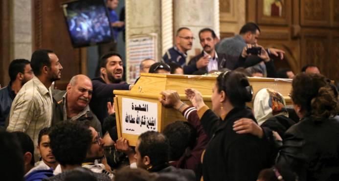 Nueve muertos en un ataque contra una iglesia en Egipto