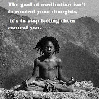 meditate, in meditation, boy in meditation, why meditate, goal of meditation