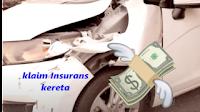 cara klaim insurans kereta bila kena langgar dari belakang