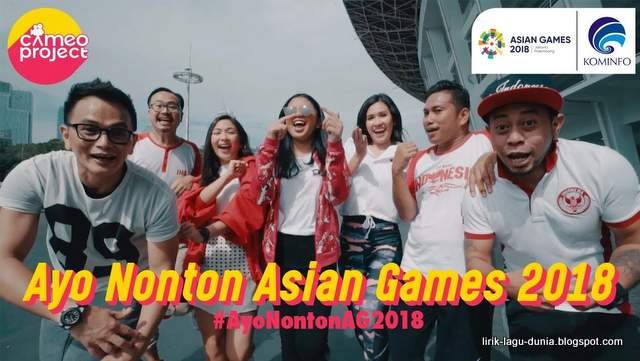 Lagu Asian Game Dance Challenge Lirik
