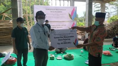 Desa Pejaring Terpilih Sebagai Penerima Bantuan CSR Sumur Bor PLN Mataram