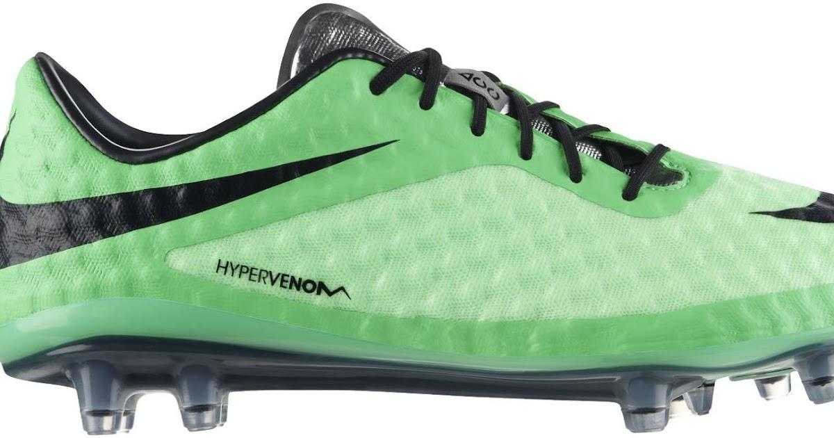 9e418b69fae0 Nike Hypervenom Green 2014 Boot Colorway Released - Footy Headlines