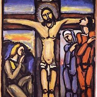 'Crucifixion' by Georges Rouault