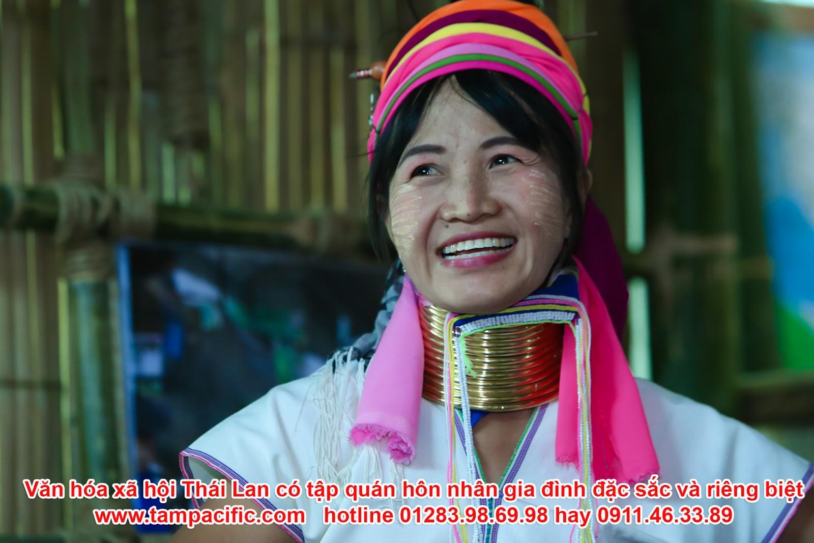 Văn hóa xã hội Thái Lan có tập quán hôn nhân gia đình đặc sắc và riêng biệt