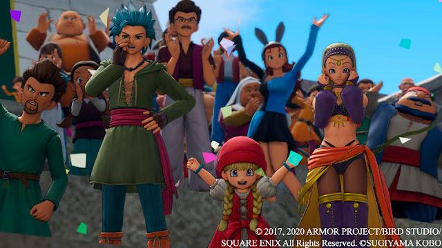 Vitoreando Verónica Erik Serena Luminario Análisis de Dragon Quest XI S Ecos de un pasado perdido