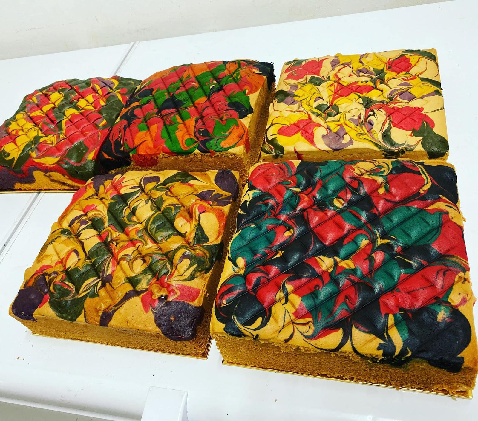 resepi kek viral azlina ina