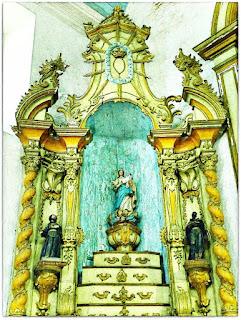 Altar de Nossa Senhora do Rosário - Igreja Matriz de Viamão