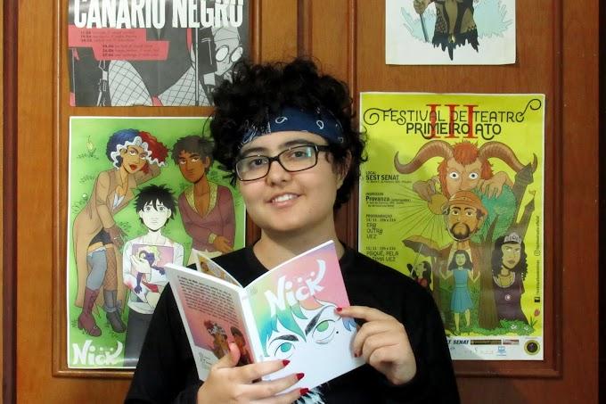 As histórias em quadrinhos de Lalla Dalla