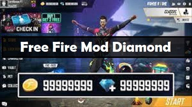 Free Fire Mod Diamond