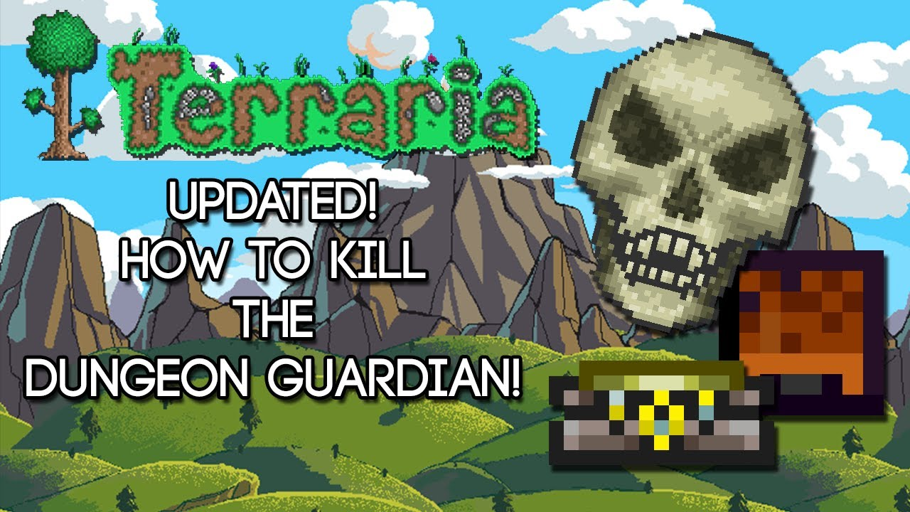 terraira guide to kill moon lord