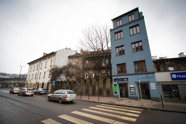 Muro del ghetto-Cracovia