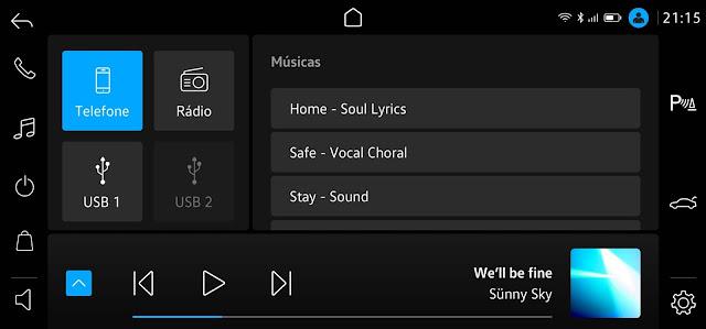 VW Nivus: vídeo mostra detalhes da multimídia VW Play