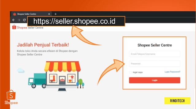 Cara tarik saldo penjualan di Shopee ke rekening pribadi