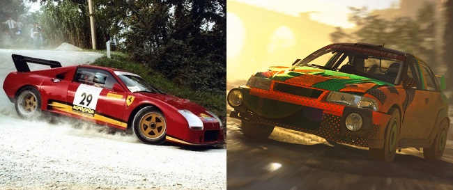 Differences between Dirt Rally 3.0 and Dirt 5