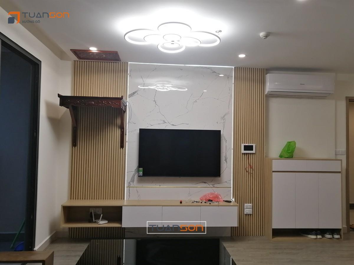 Thi công nội thất căn hộ 65m2 (2PN+2WC) S2.16-18 Vinhomes Ocean Park