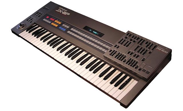 Synthétiseurs : Roland JX8p