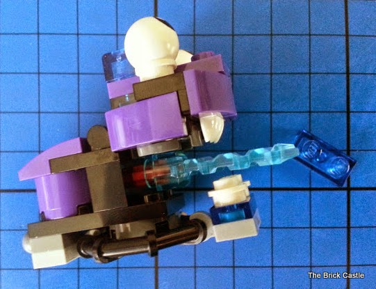 LEGO Mixels Series 3 review - Wizwuz wiztastic magic tribe 41526 set side view
