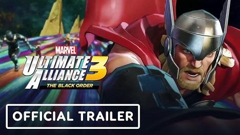 Marvel Ultimate Alliance 3: The Black Order Release Trailer